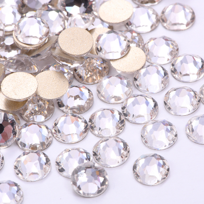 2088 SS16 Clear Crystal Glass no Hotfix Nail Rhinestone